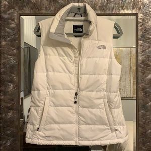 The North Face White Vest